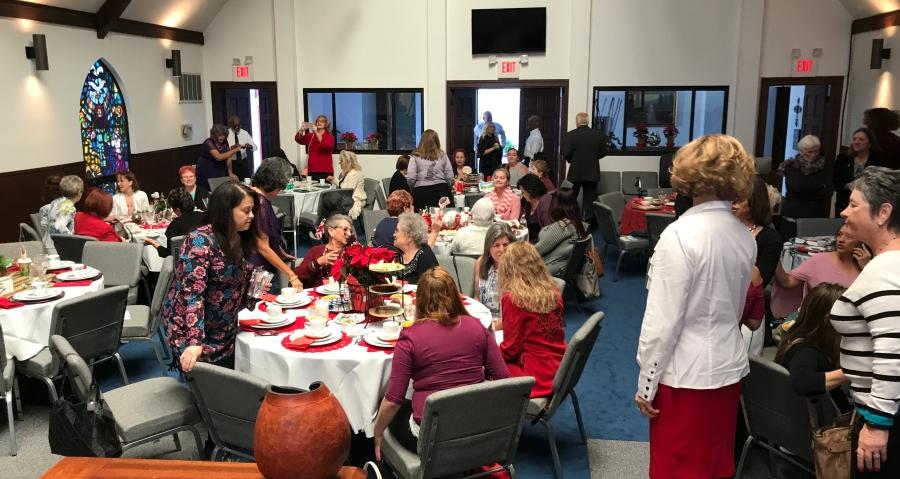 Christmas Tea Party-Daily Disciples Center
